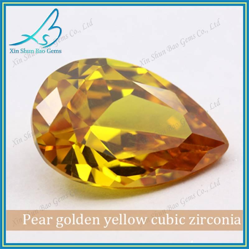 3*5mm Machine Cut Synthetic Stones Cubic Zirconia Price