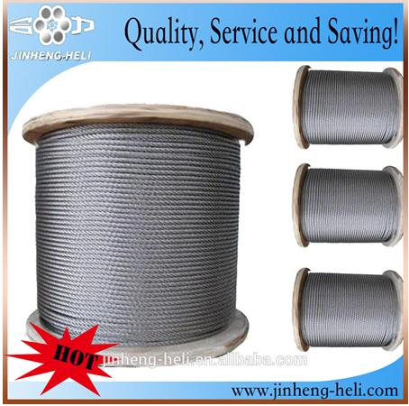 Class C coating galvanized steel wire strands ASTM strandard