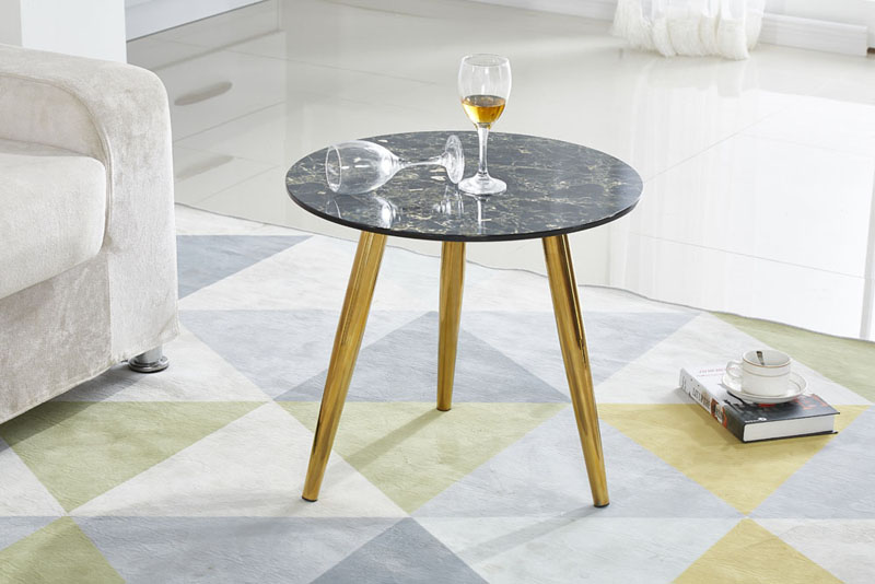 Modern Nordic Style Living Room Sofa Side Table
