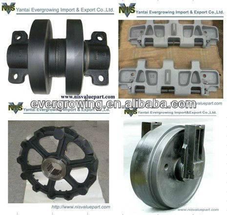 KOBELCO BM800 Crawler Crane Undercarriage parts