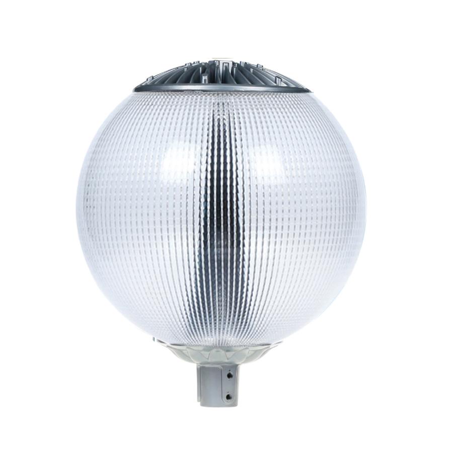 LED lamp post globe