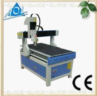 Plastic/Wood/ MDF/Plexiglas/Organic/Acrylic Mini CNC router price AOL-6090