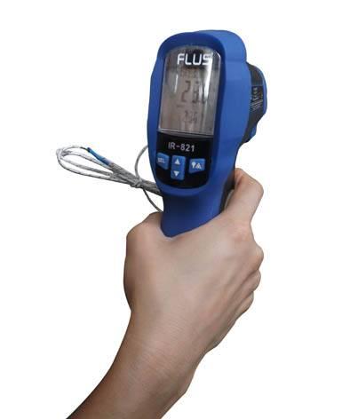 Industrial high quality waterproof Infrared & K-Type Digital Thermometer gun IR-821