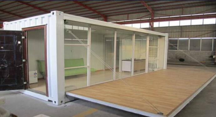 40ft' Converted Steel Structure Shipping Container