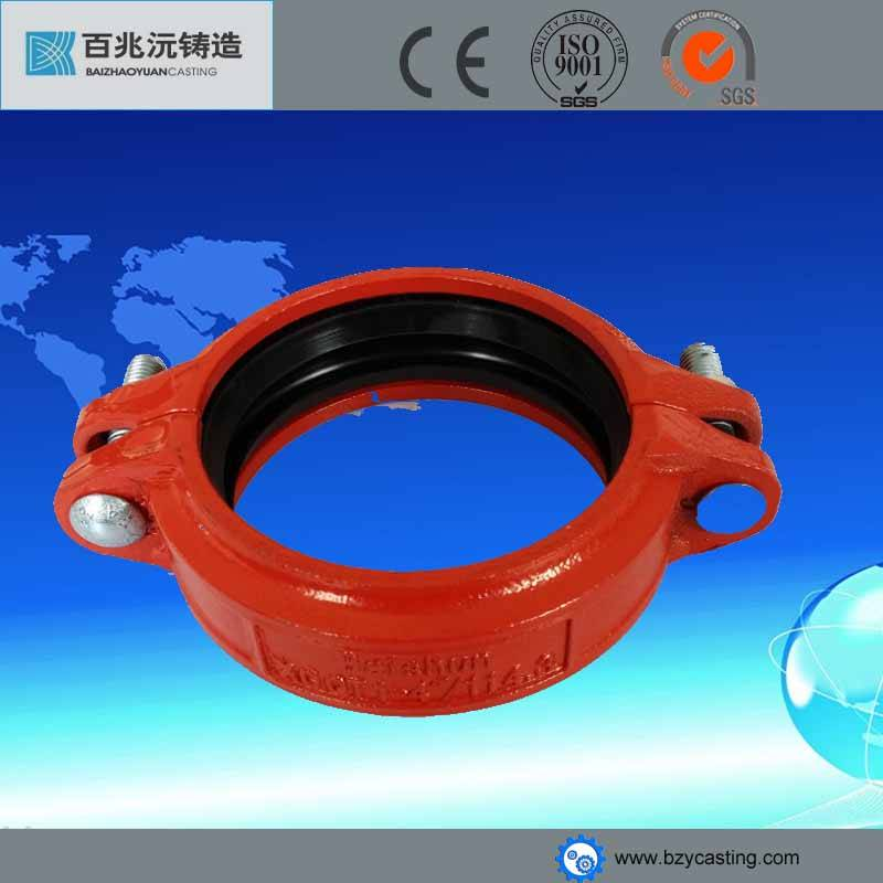 Ductile Iron 300psi Grooved Flexible joint Coupling