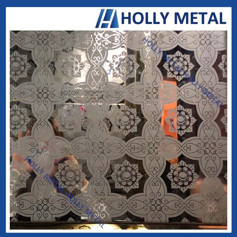 Stainless Steel Decoration Sheet Pattern Sheet