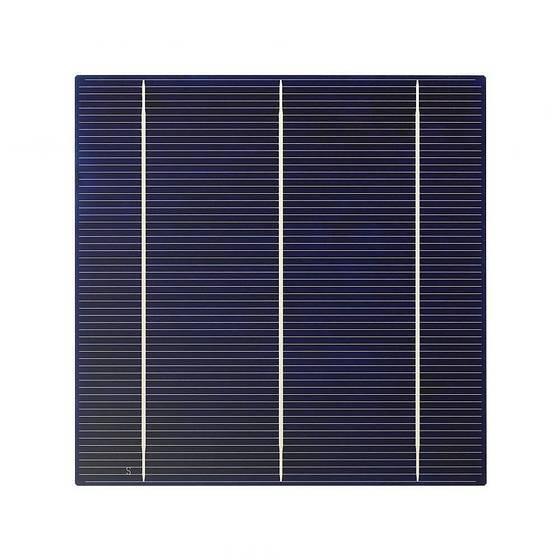 Polycrystaline solar cell