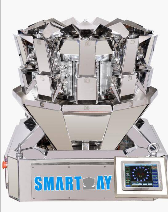 Automatic 10 Head Multihead Weigher