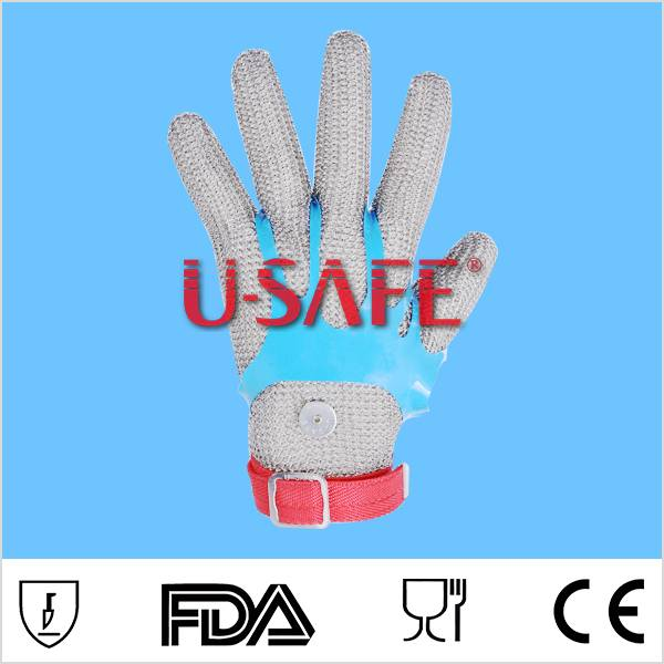 U SAFE 1221 stainless steel mesh glove