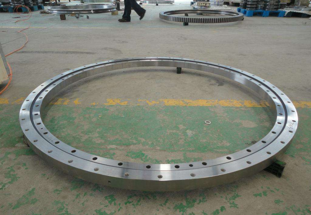 Floor mounted 360 degree rotating slewing bearing for crane/free standing jib crane with trade assur