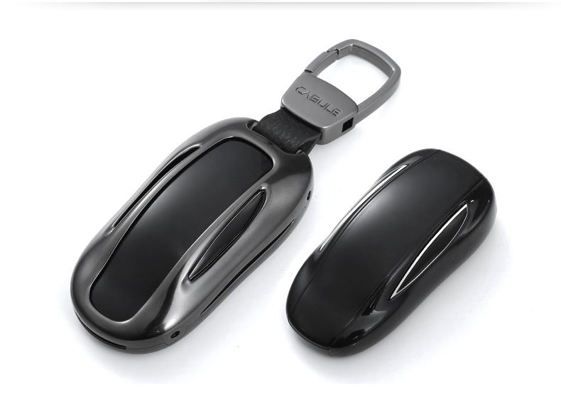aluminum alloy car key case for Tesla