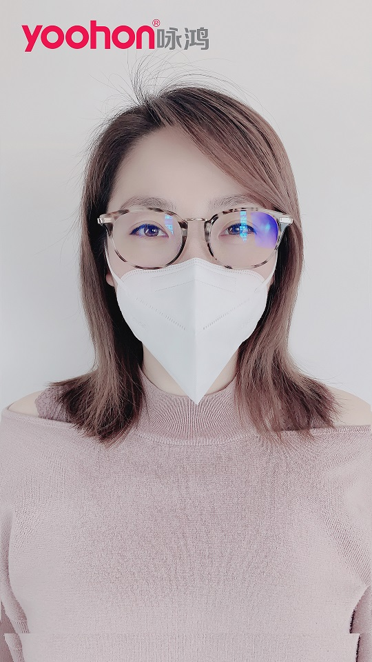 3D Folding GB2626-2006 Anti Dust Pm2.5 Mouth Respirator Facemask Face Mask
