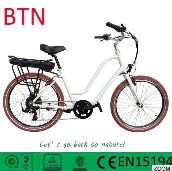 2016 BTN new design electric beach cruiser bicycle with torque sensor