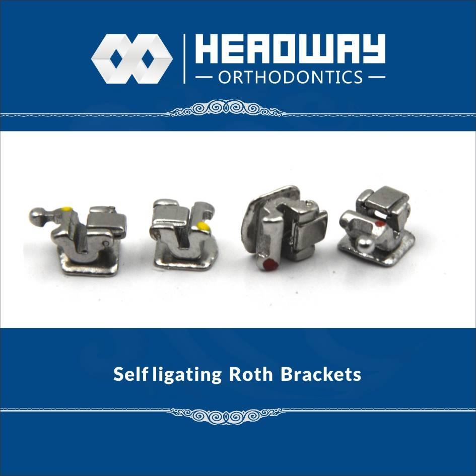 Headway Roth Self Ligating Orthodontic Bracket