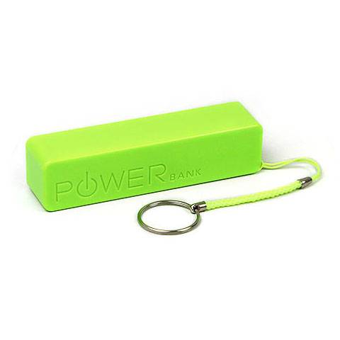 ABS Lithium Ion Power Bank Stick Custom-made Logo With Keyring