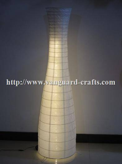 Bottle Shape Paper Floor Lamp