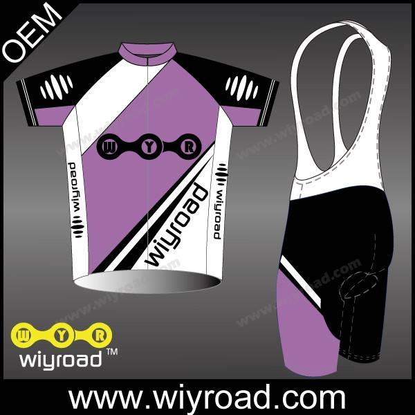 Accept sample order cycling wear stock/selling cycling shirt/specialized cycling bib shorts set