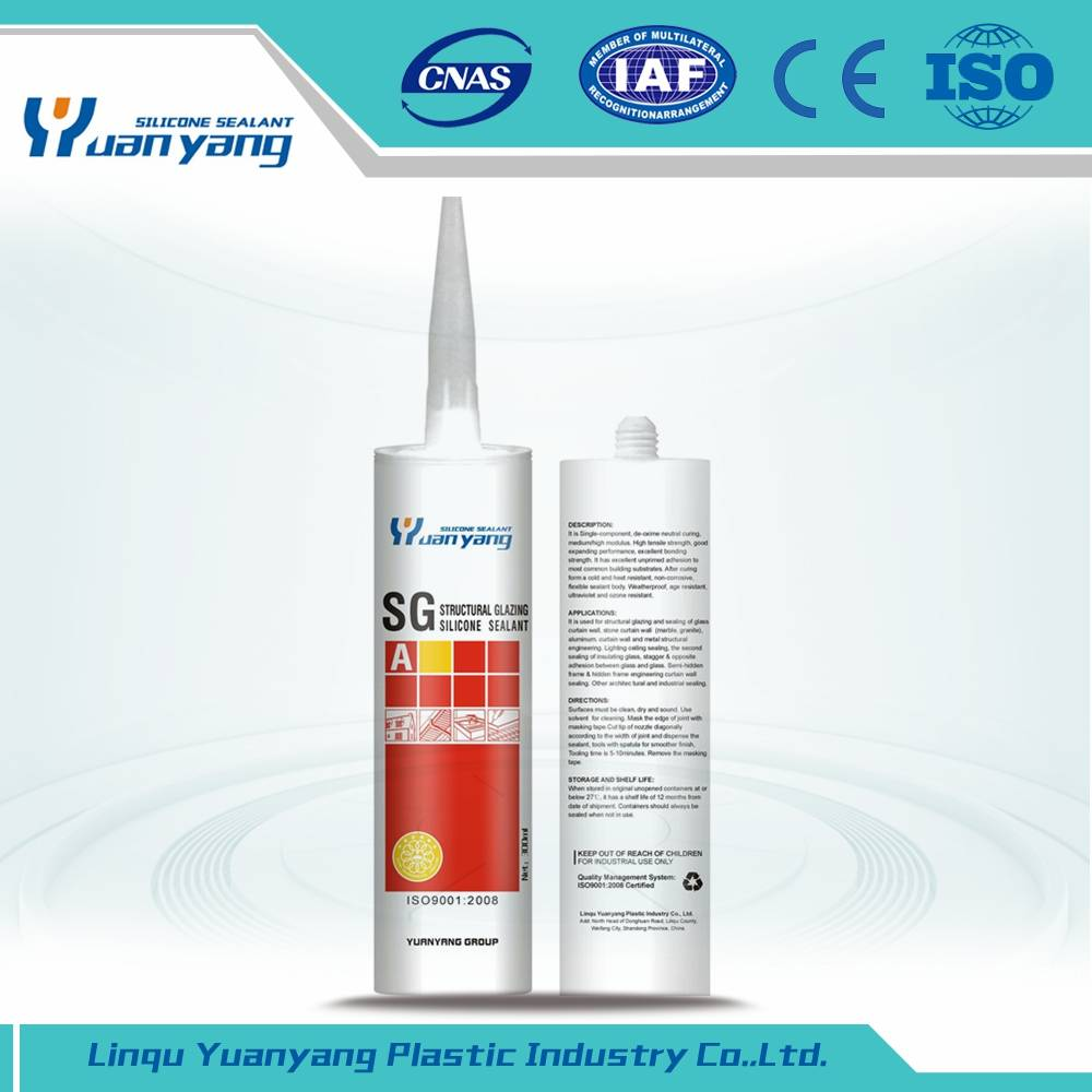 One Part Silicone Structural Glazing Sealant Structural Neutral Cure Silicones Sealant