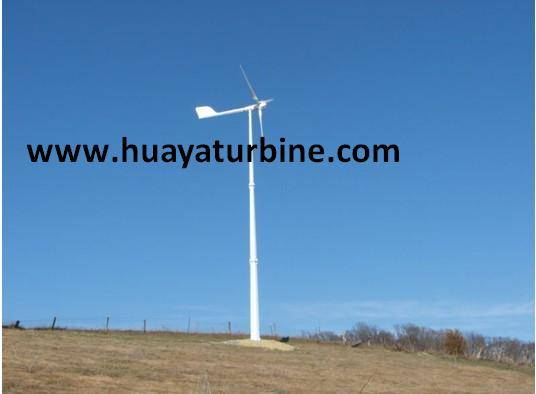 Pitch controlled wind turbine 3kw 5kw, 10kw 20kw, 30kw, 50kw