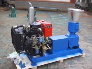 Diesel pellet mills 30HP KJ-ZLMP260D