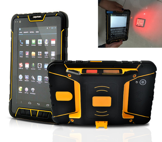 ST907 7 inch Android 5.1 OS rugged tablet PC with 1d 2d barcode scanner