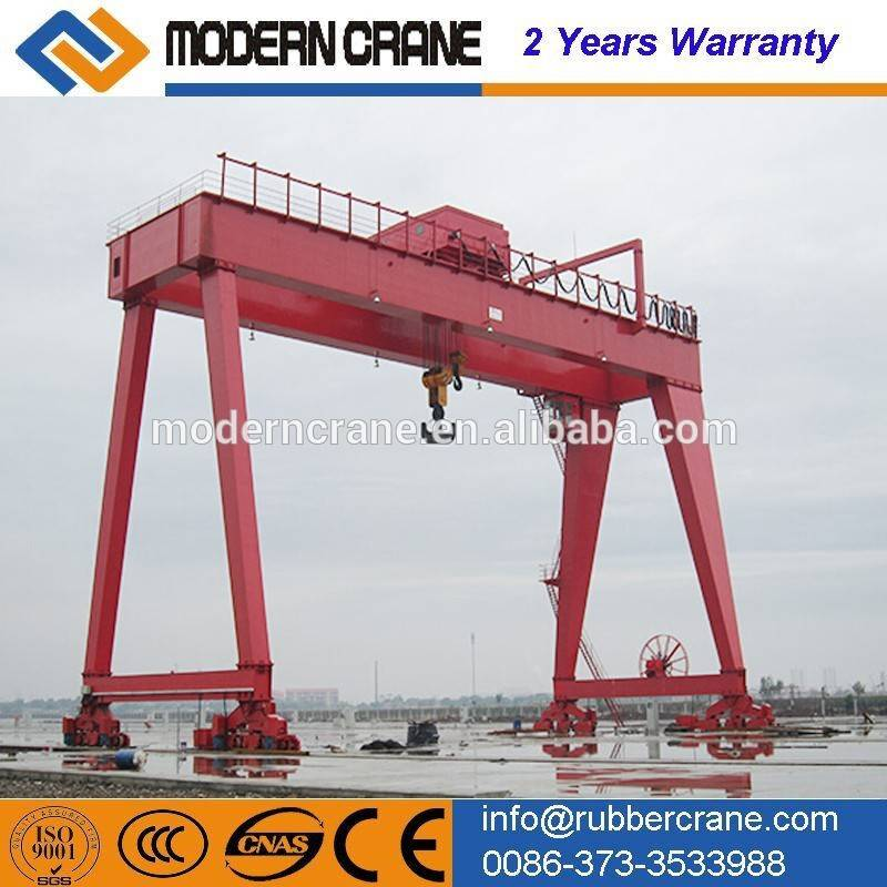CE certificated best price double girder gantry crane for sale