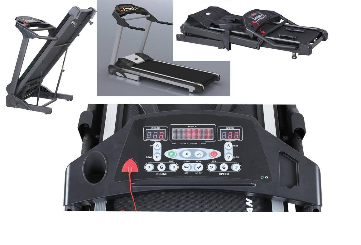 Semi-commercial Motorized Treadmill