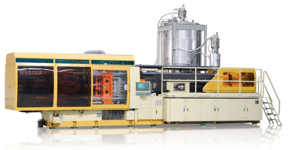 High-Efficient PET preform injection machine