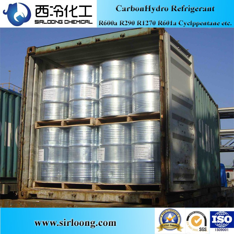Isopentane R601a Refrigerant Gas Blowing Agent CAS:78-78-4 C5H12