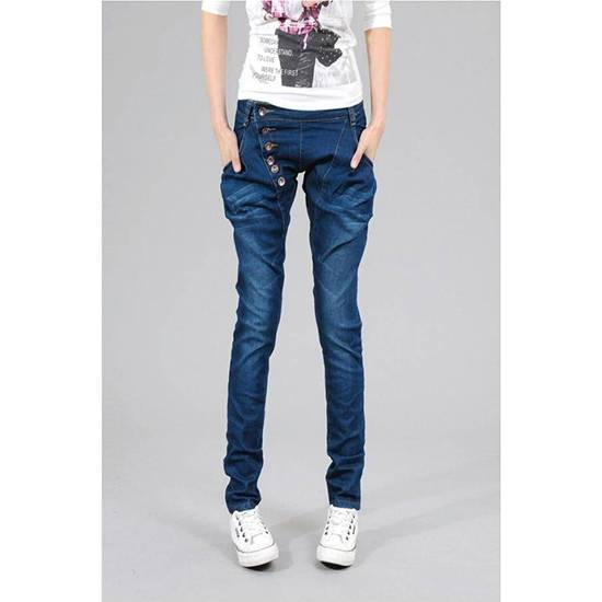 women denim jeans straight fashion style for wholesales jeans wear
