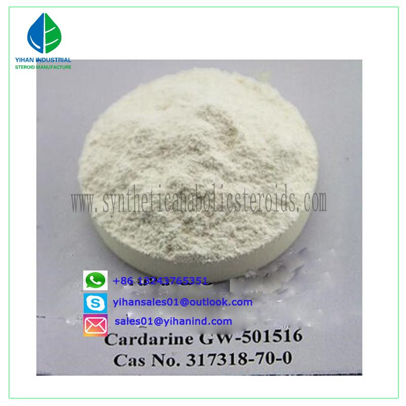 Raw Sarms Powder Gw501516 (Cardarine) (GSK-516) Gw1516 317318-70-0 for Bodybuilding Judy