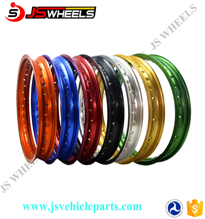 "18"" 21"" 19 Inch Dirt bike Motorcycle CNC Colored Aluminum Alloy wheel Rims"
