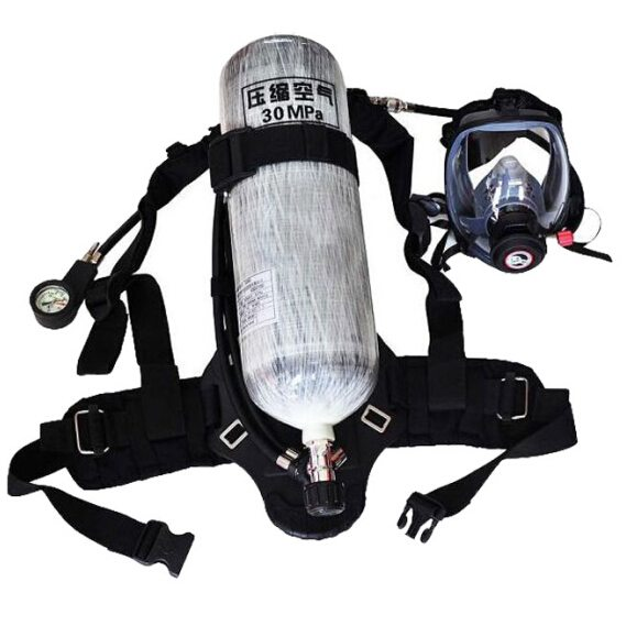 6.8L/9L Carbon Fiber Cylinder Self-Contained Breathing Apparatus