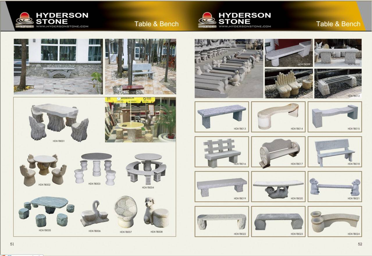 Stone Garden Products Hyderson Stone Co Ltd