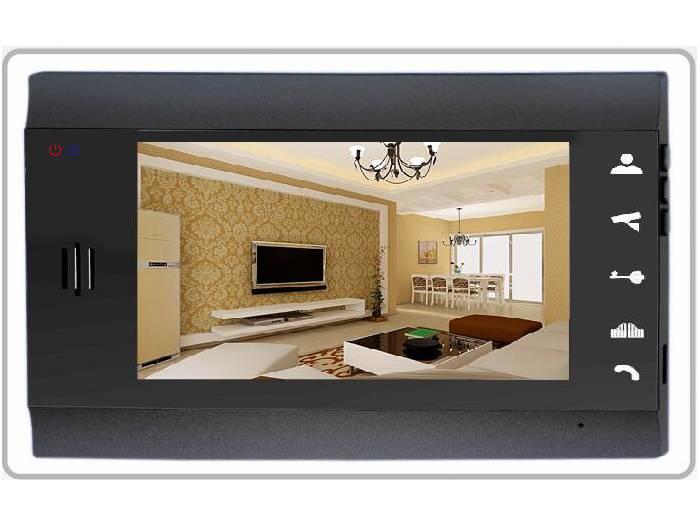 Security video door phone with two ways intercom for villa