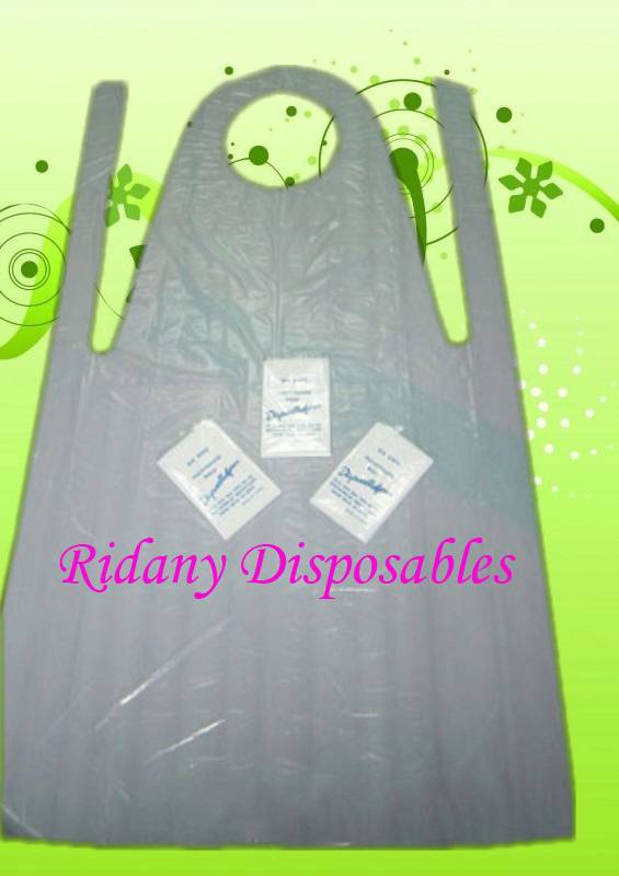 PE Disposable Apron Individually Wrapped,Polyethylene Apron