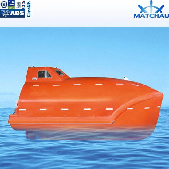 FRP Totally Enclosed Free Fall Lifeboat/Free Fall Life Boat