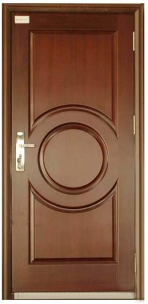 hollow metal door with fire resistance for commercial and residential construction with embossed
