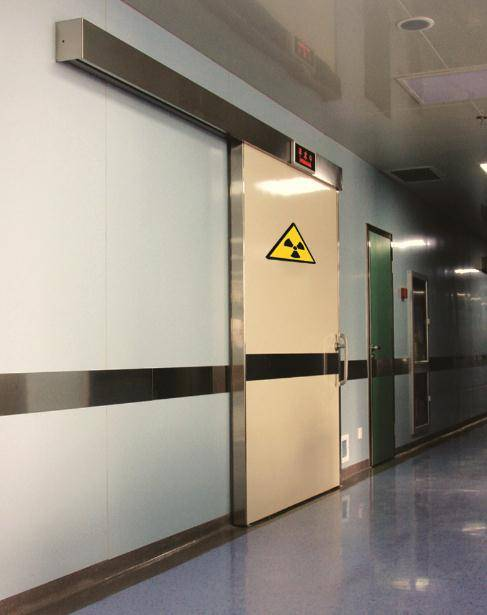 x-ray protection lead door