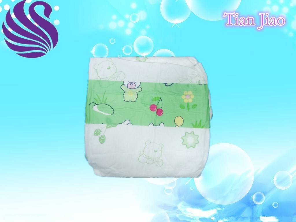 Non Woven and Soft Breathable Absorption Baby Diapers