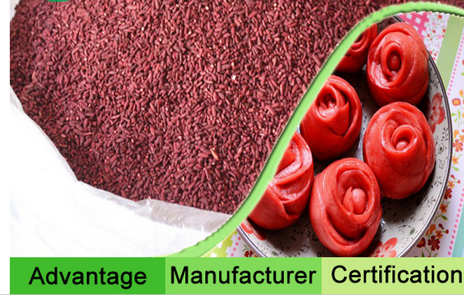 Red Fermented Rice 1000u/g Color Value