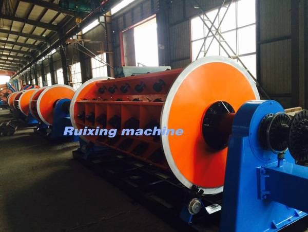 High Speed Rigid Frame Stranding Machine