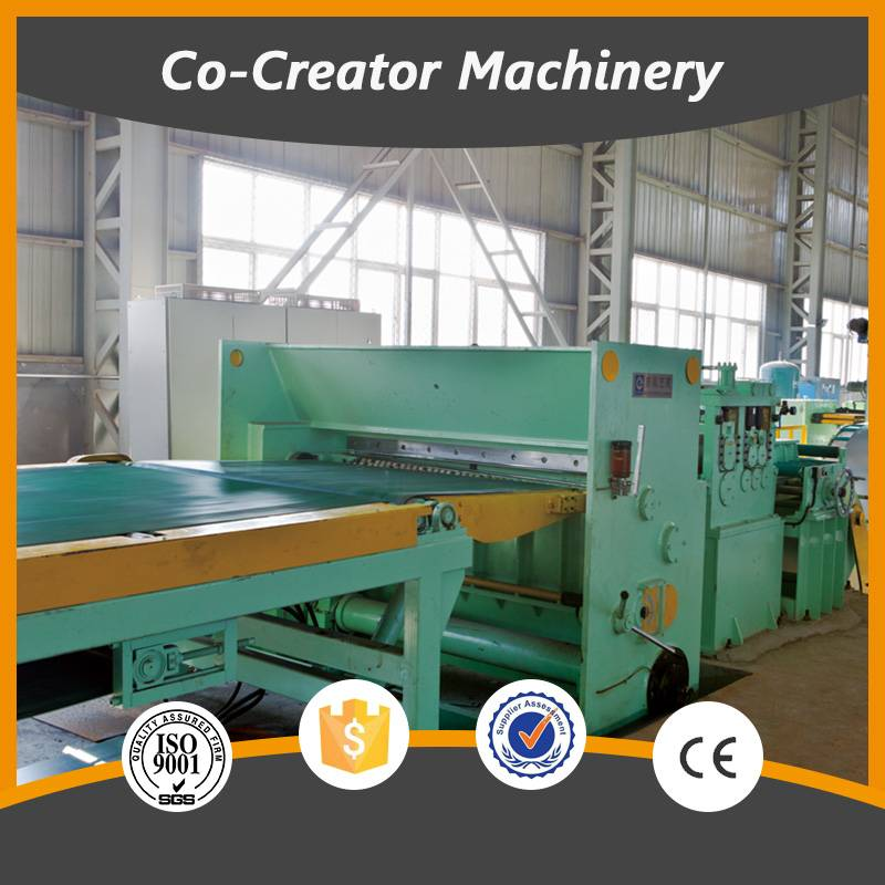 flying shear coil cut to length line machinery/engineer is available for overseas service