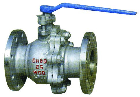 Flange steel ball valve