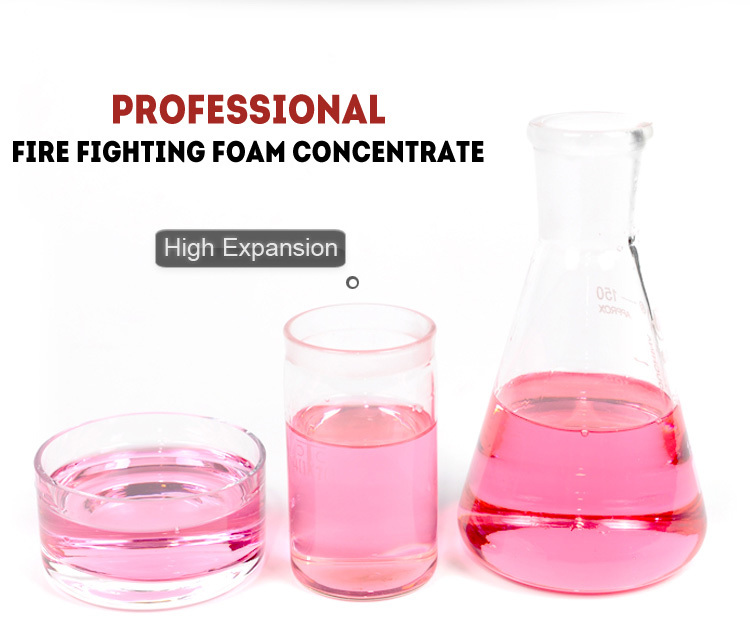 High expansion foam compound fire fighting foam concentrate