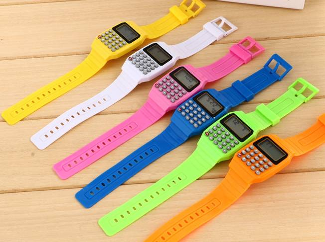 silicone watch wrist pocket watches sport watch