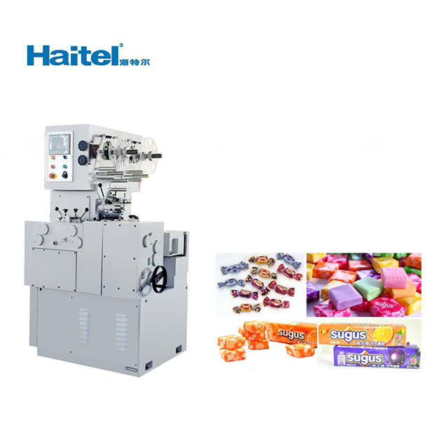 High quality automatic candy cutting and double twist packing machine