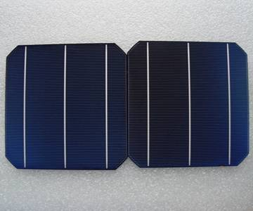 Taiwan Brand Mono-crystalline solar cell 4.3-4.5W with competitive price
