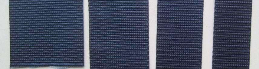 Dark blue nylon web