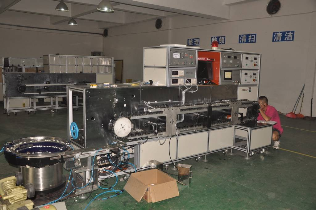 High Frequency Capacitor Testing & Sorting Machine (HB-CX200)